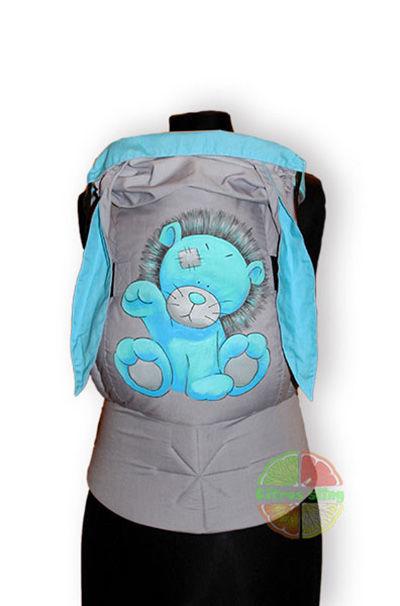 Фото 9 - Эрго-рюкзаки Citrus sling  с ушками  и рисунком ручной работы