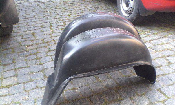 Фото 2 - Подкрылки, локеры, защита колесных арок Opel Kadett (Опель Кадет)