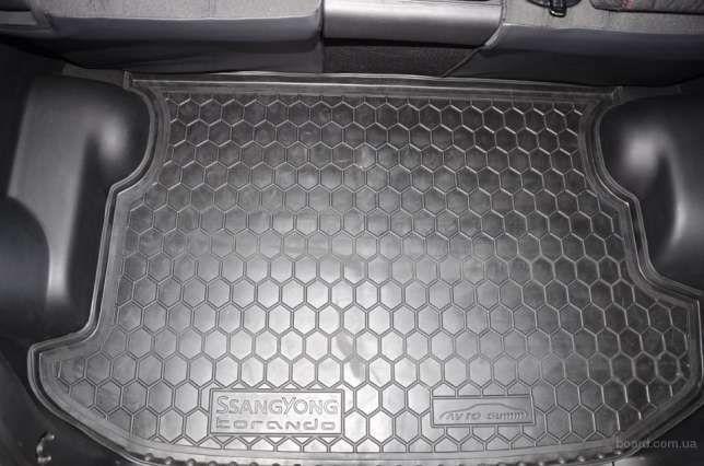 Фото 2 - Резиновые ковры в салон, багажник, полиуретановые автоковрики ВСЕ АВТО