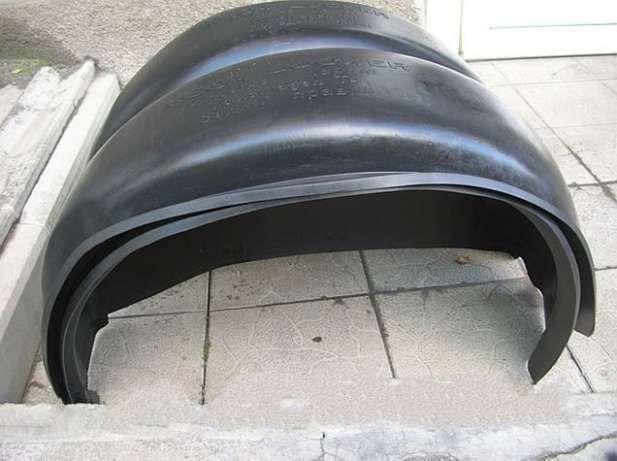 Фото 2 - Подкрылки, локеры, защита колесных арок Daewoo Lanos (Деу Ланос, Сенс)