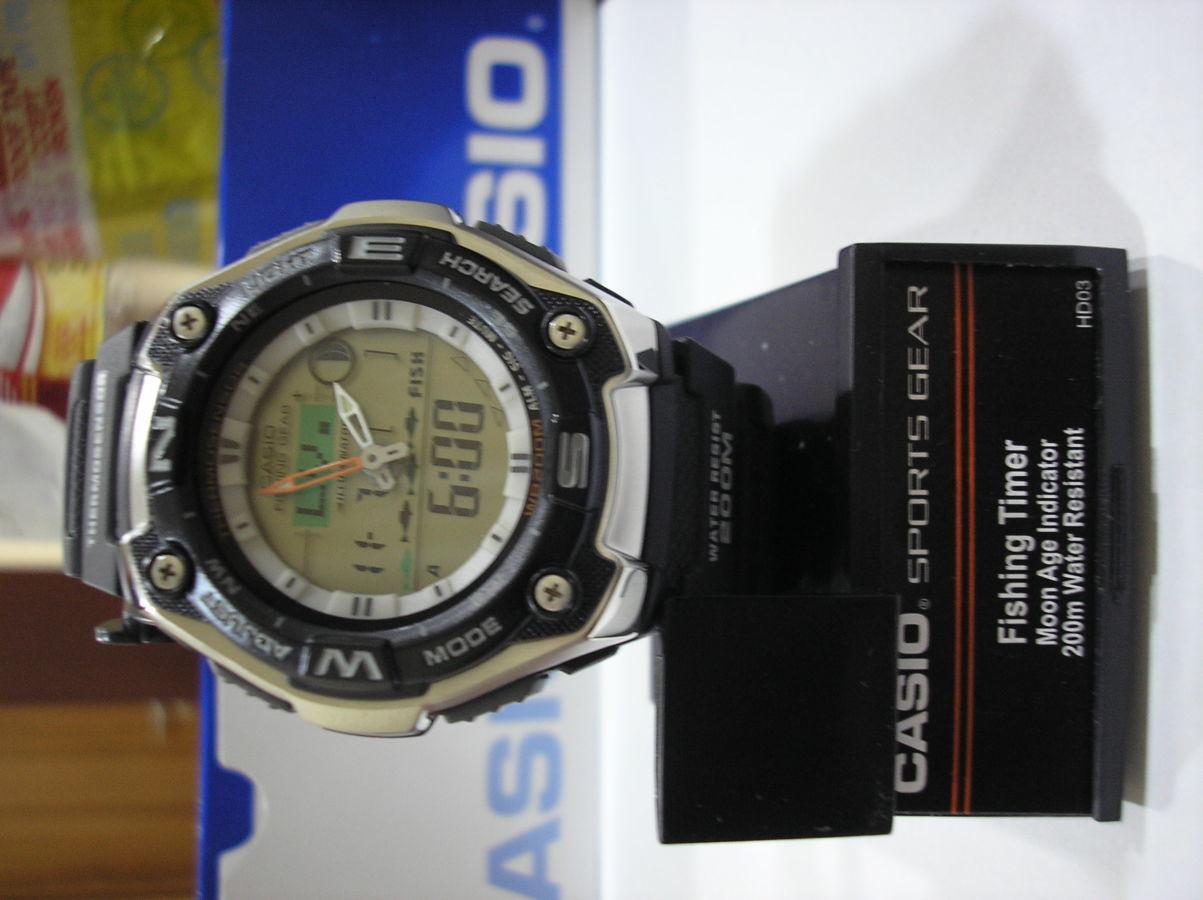 Фото 2 - Часы Casio AQW-101-1A рыбалка и охота в наличии