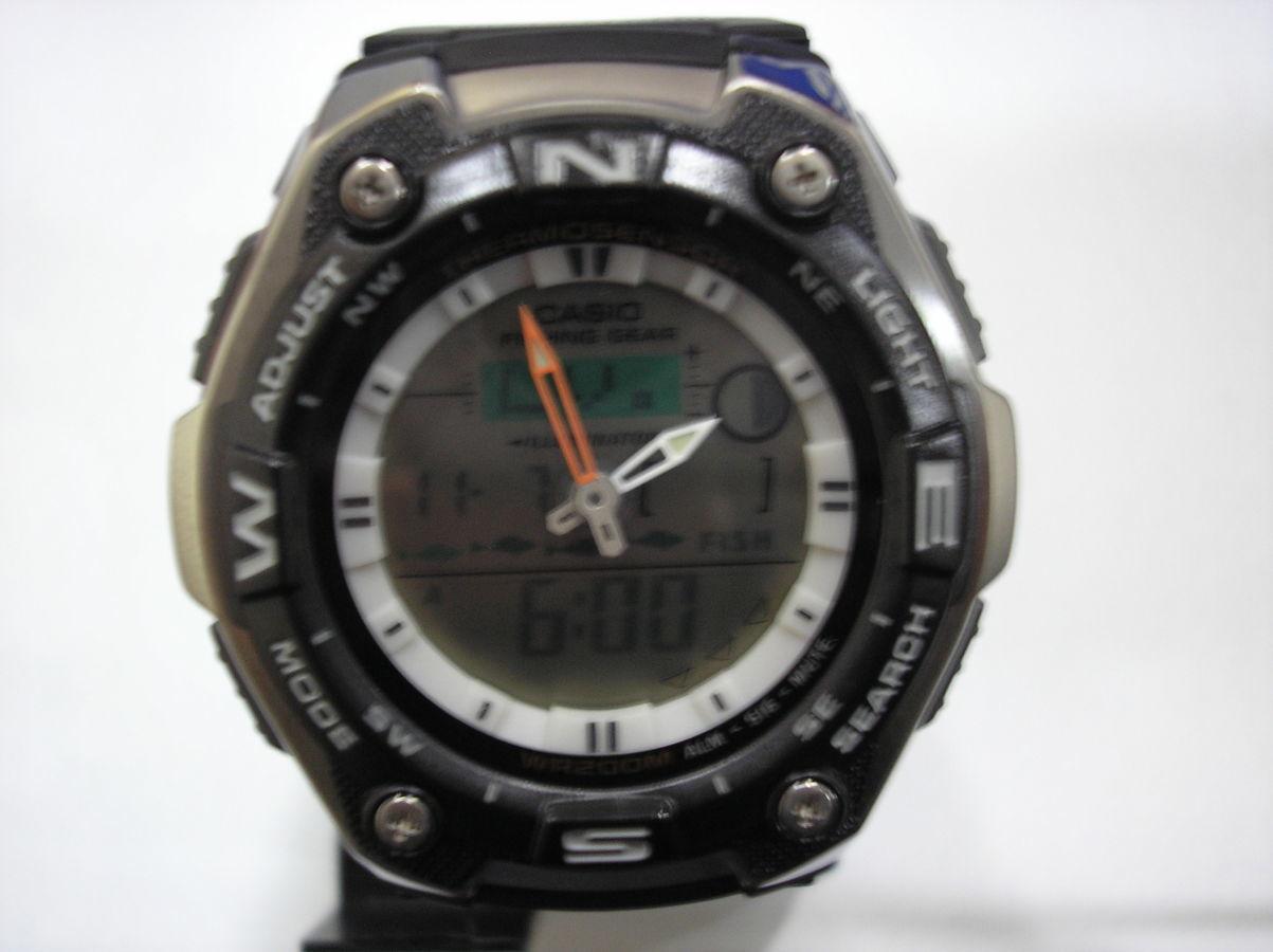 Фото 3 - Часы Casio AQW-101-1A рыбалка и охота в наличии