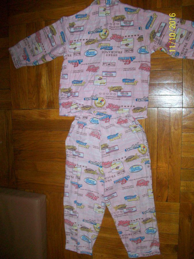 Фото 4 - Пижама на 5 -6 лет.