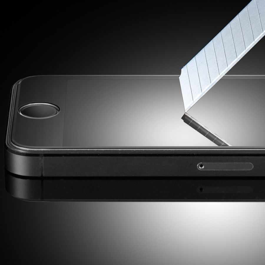 Фото - iPhone 4/4s защитное стекло закаленное на экран