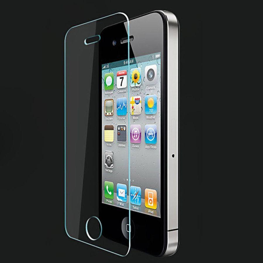 Фото 2 - iPhone 4/4s защитное стекло закаленное на экран