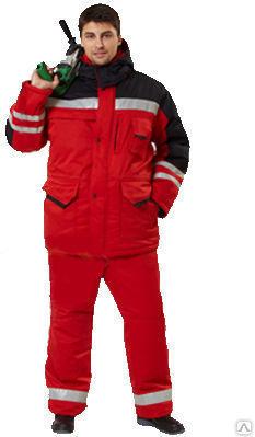 Фото - Костюм ИТР, куртка и полукомбинезон со светоотражайками