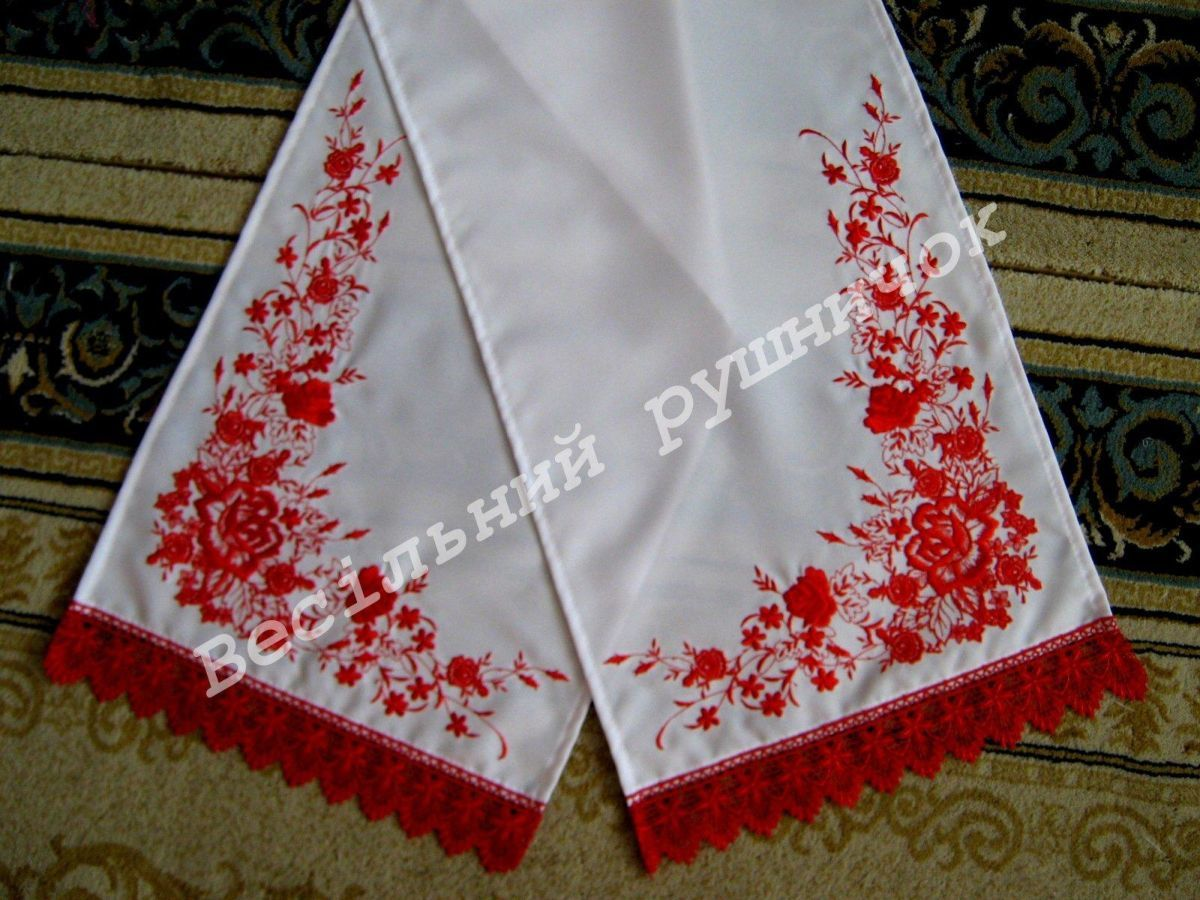 Фото 8 - Свадебные рушники на заказ