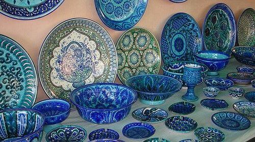 Фото 2 - Узбекская керамика « Султан Шах »