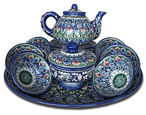 Фото 3 - Узбекская керамика « Султан Шах »