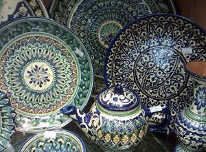 Фото 4 - Узбекская керамика « Султан Шах »