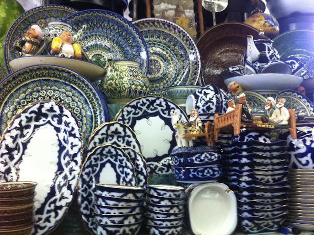 Фото - Узбекская керамика « Султан Шах »