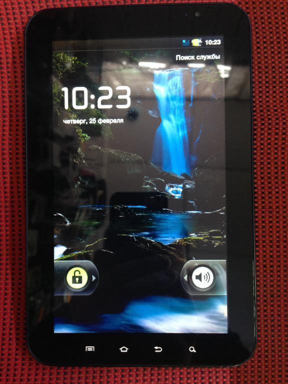Фото - Планшет SAMSUNG SCH-I800 Galaxy Tab 7.0 CDMA