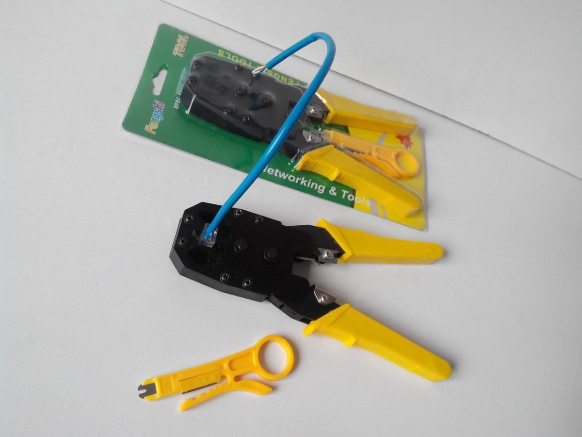 Фото 5 - Инструмент для зажима сетевых проводов+подарок