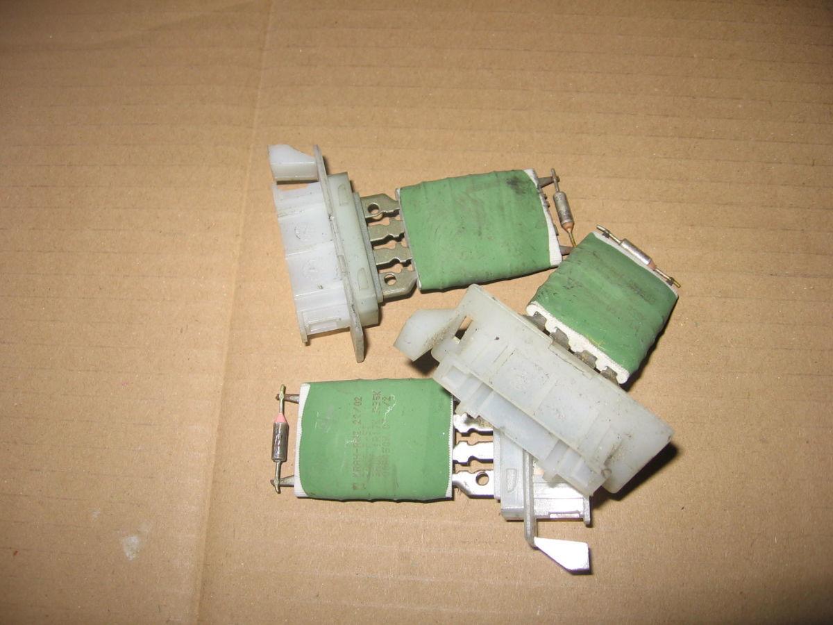 Фото - Регулятор резистор вентилятора печки  Caddy Sharan Octavia 1К0959263А