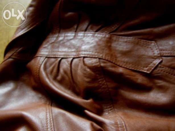 Фото 3 - Кожаная женская куртка 50 р , Турция