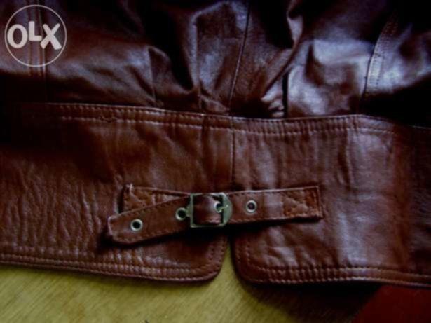 Фото 4 - Кожаная женская куртка 50 р , Турция