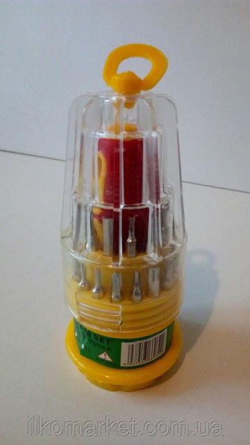 Фото 2 - Набор отверток с насадками 31 в 1 для электроники