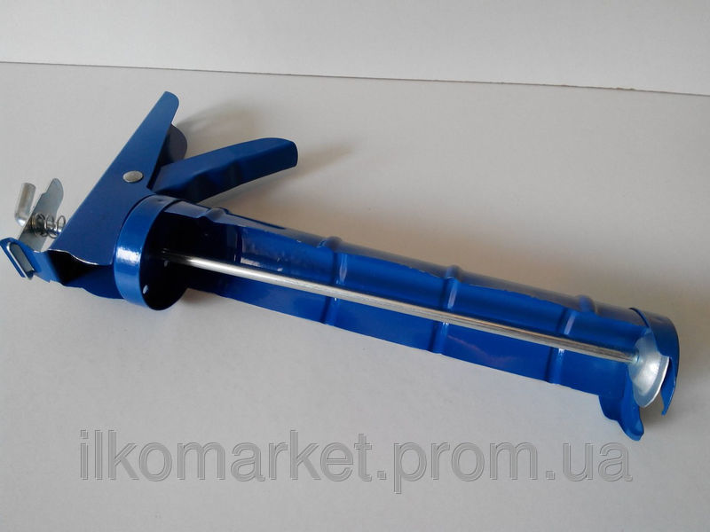 Фото 2 - Пистолет для герметика и силикона полуоткрытый