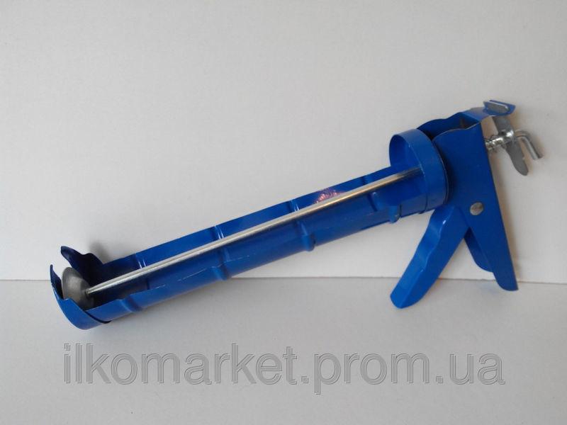 Фото - Пистолет для герметика и силикона полуоткрытый