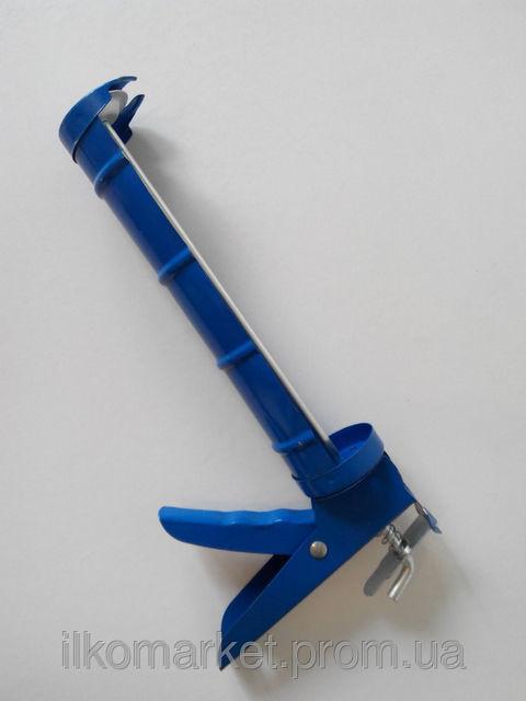 Фото 4 - Пистолет для герметика и силикона полуоткрытый
