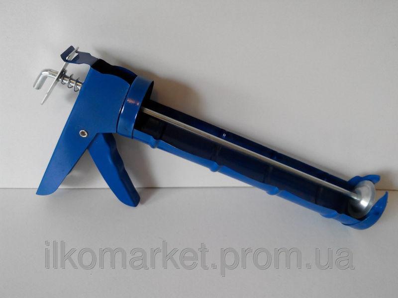 Фото 3 - Пистолет для герметика и силикона полуоткрытый