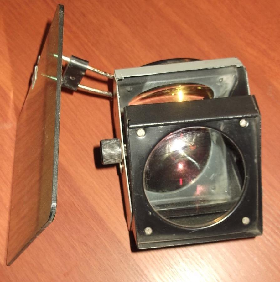 Фото 4 - Объектив с зеркалом и со светофильтром с графопроектора