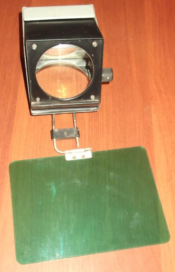 Фото 5 - Объектив с зеркалом и со светофильтром с графопроектора