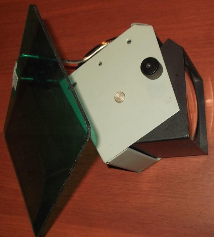 Фото 3 - Объектив с зеркалом и со светофильтром с графопроектора
