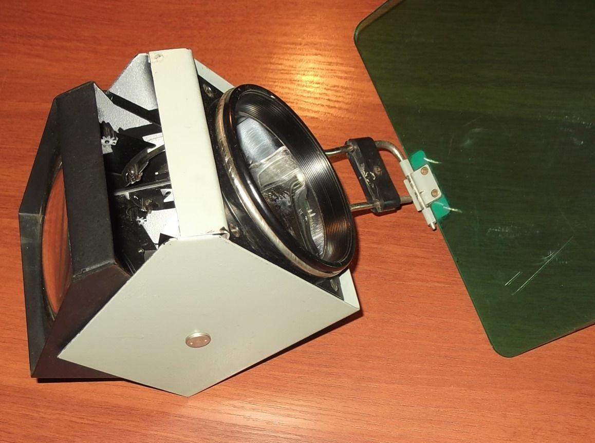 Фото 8 - Объектив с зеркалом и со светофильтром с графопроектора