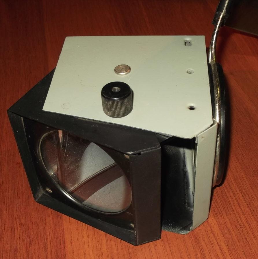 Фото 6 - Объектив с зеркалом и со светофильтром с графопроектора