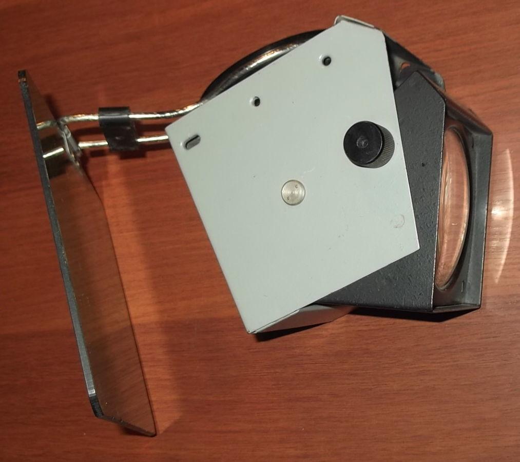 Фото 2 - Объектив с зеркалом и со светофильтром с графопроектора