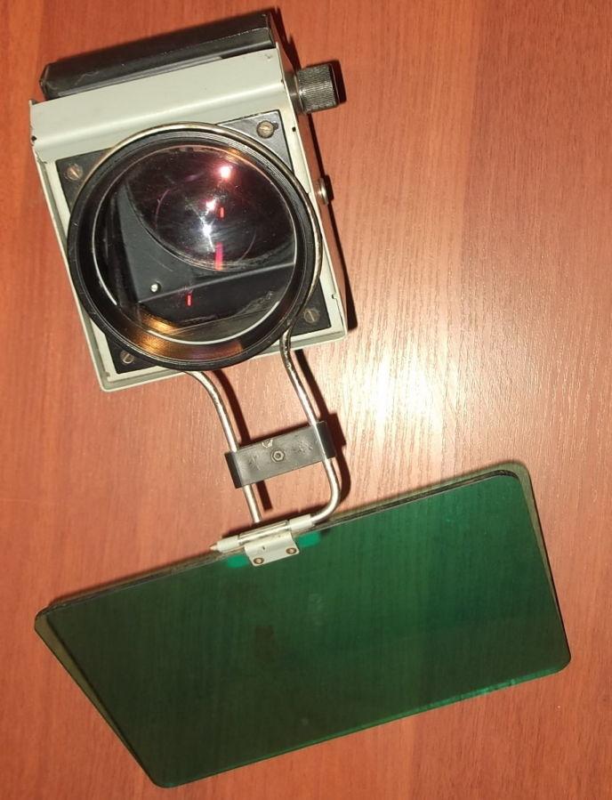 Фото - Объектив с зеркалом и со светофильтром с графопроектора