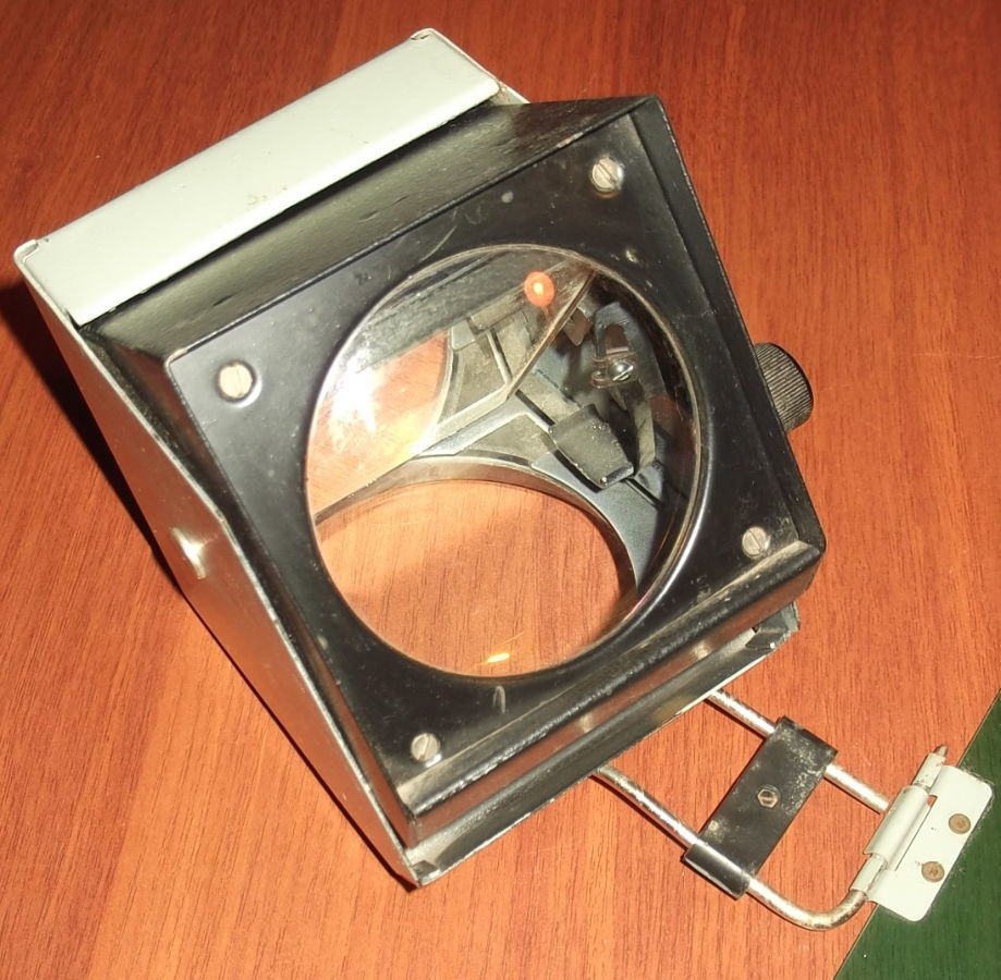 Фото 10 - Объектив с зеркалом и со светофильтром с графопроектора