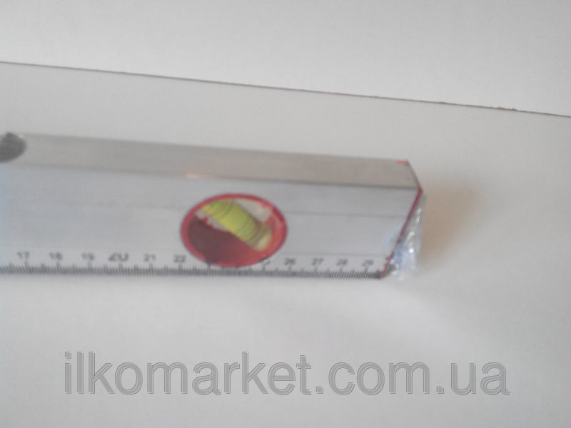 Фото 4 - Уровень с линейкой длина 30см. алюминиевый