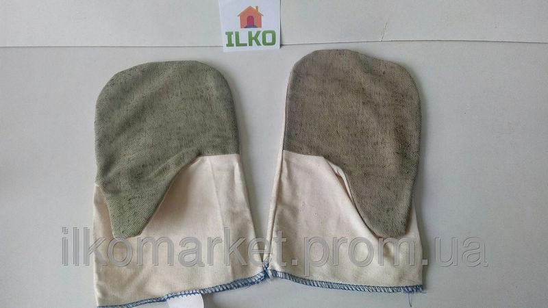 Фото - Перчатки защитные из брезента