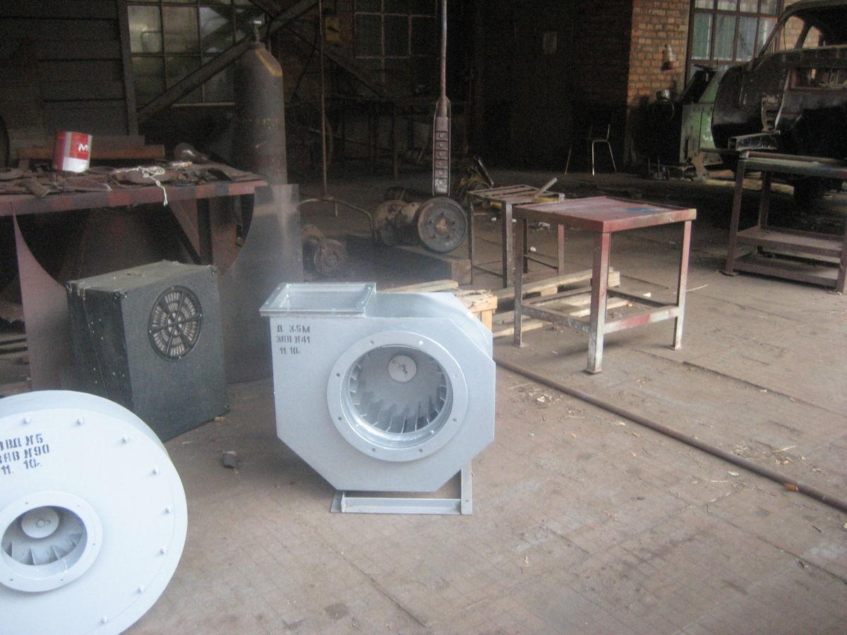 Фото 8 - Вентиляторы крышные типа ВКР