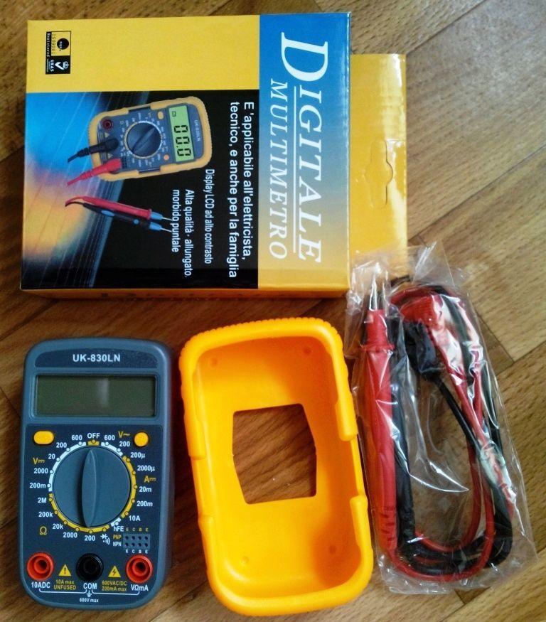 Фото 3 - Мультиметр UK-830LN - малогабаритный мультиметр с подсветкой дисплея