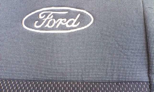Фото - Чехлы на сидения в салон Ford Transit (Форд Транзит) 1+2, ЭЛЕГАНТНЫЕ
