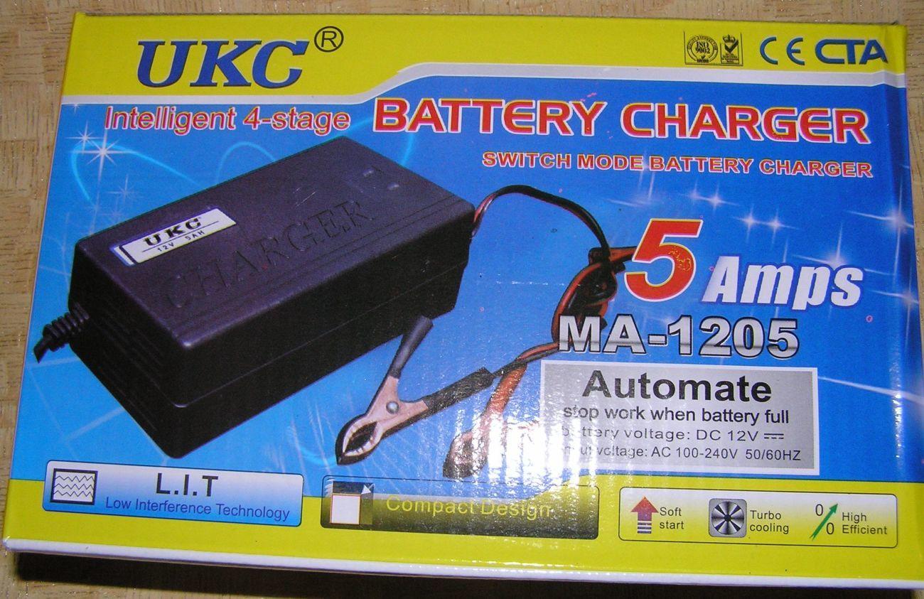 Фото 2 - Зарядное автомат 12В 5А (для автомобильных аккумуляторов 20-80 А*ч)
