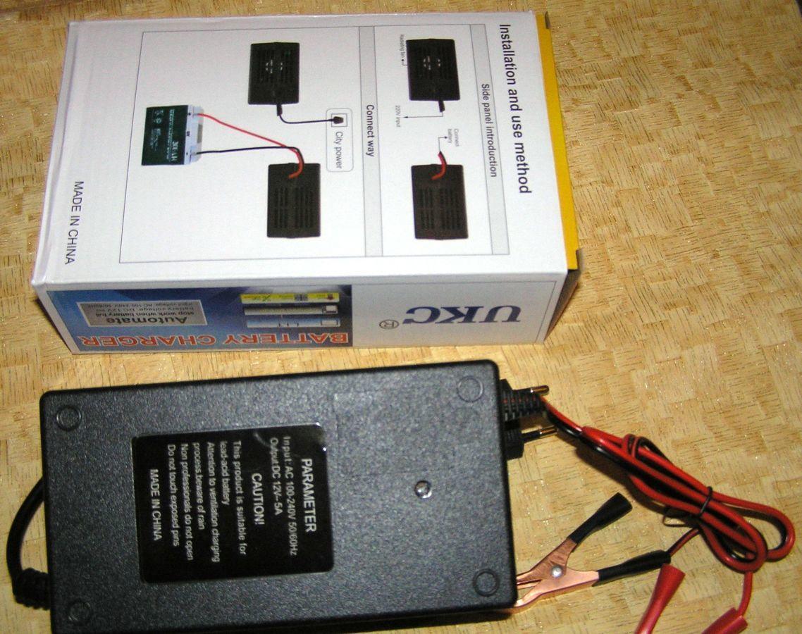 Фото 3 - Зарядное автомат 12В 5А (для автомобильных аккумуляторов 20-80 А*ч)