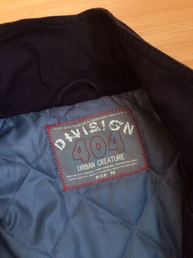 Фото 2 - Куртка Division 404 Urban Creature в идеальном состоянии