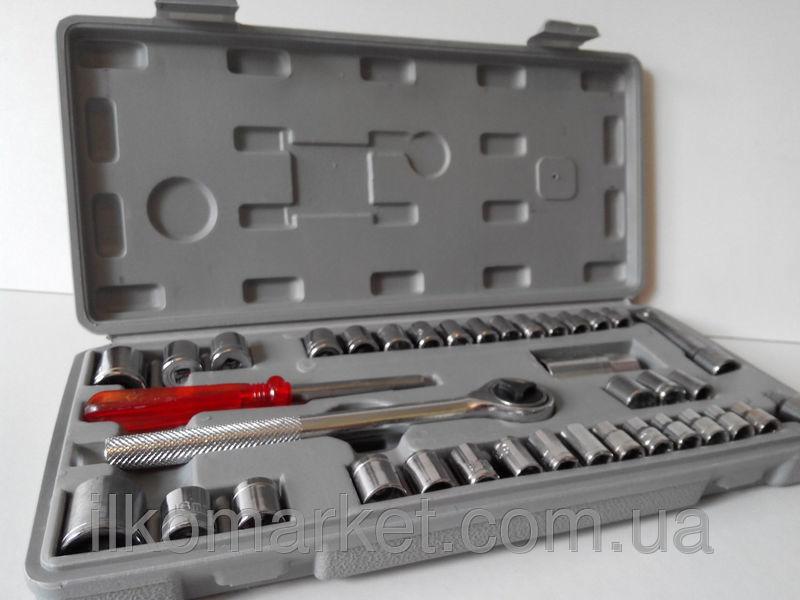 Фото 3 - Набор инструментов - головок большой 40 предметов