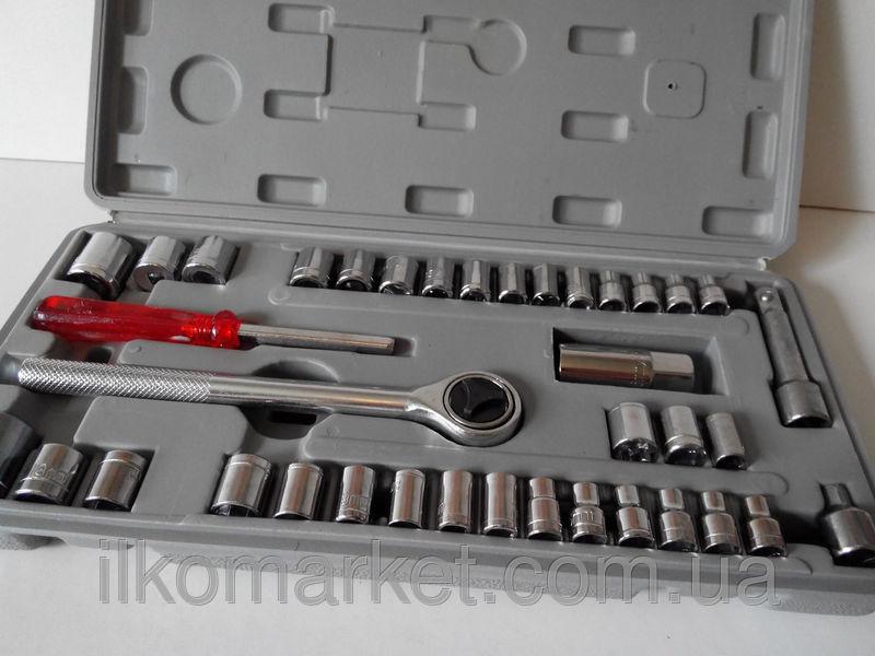 Фото 2 - Набор инструментов - головок большой 40 предметов