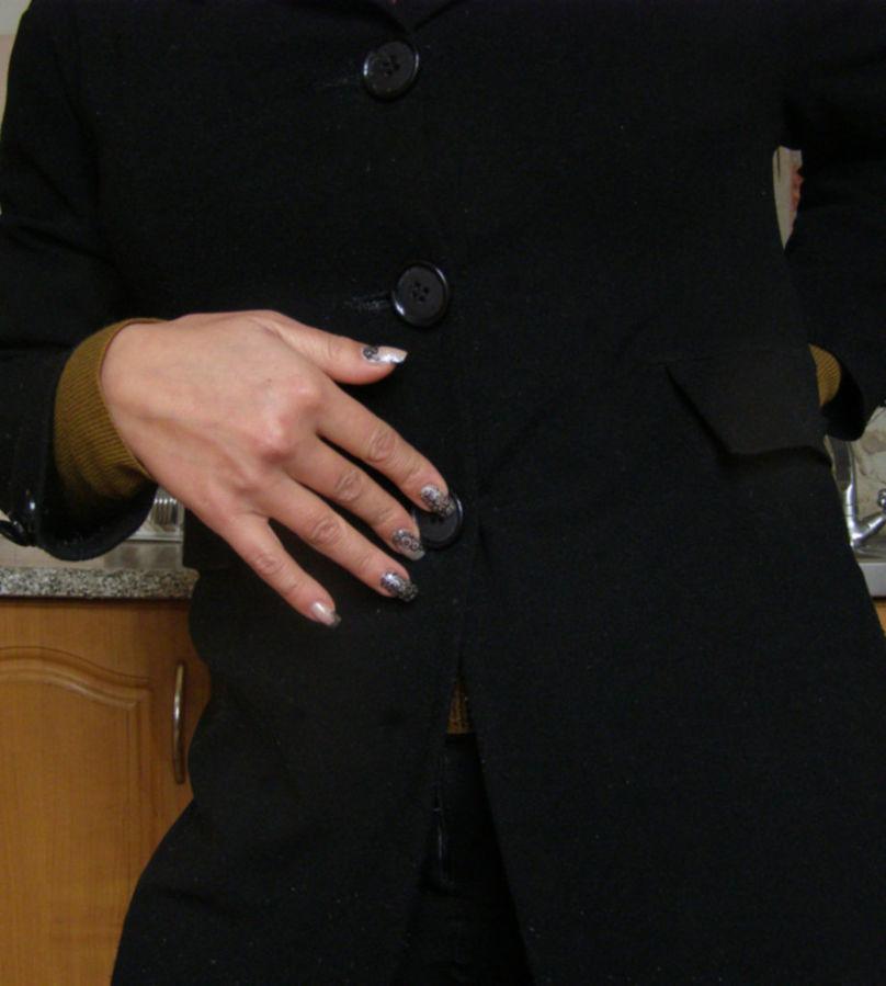 Фото 4 - Удлиненный пиджак (кардиган), L