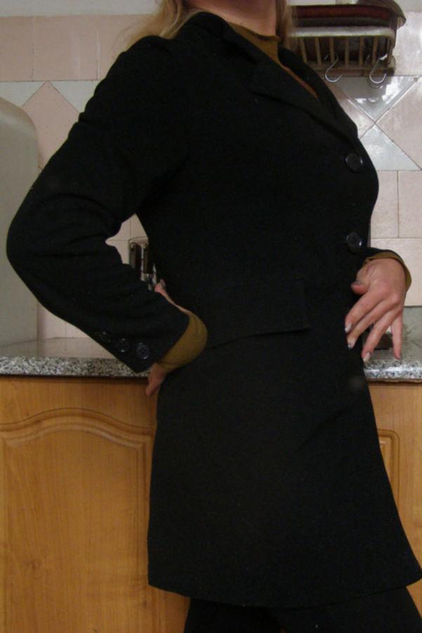 Фото 3 - Удлиненный пиджак (кардиган), L
