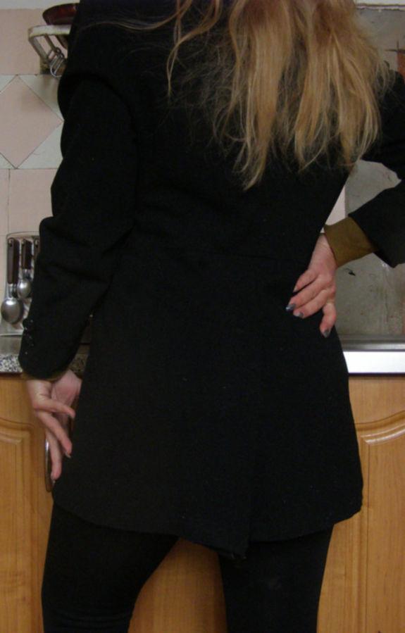 Фото 2 - Удлиненный пиджак (кардиган), L