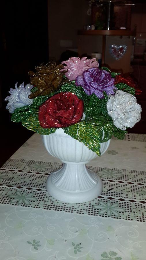 Фото - Лучший подарок! Розы из бисера Hand-made