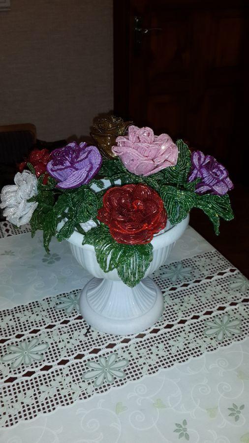 Фото 3 - Лучший подарок! Розы из бисера Hand-made