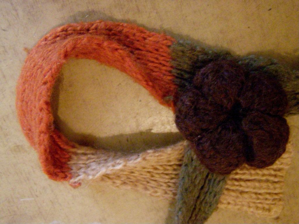 Фото 2 - Оригинальый свитер с поясом