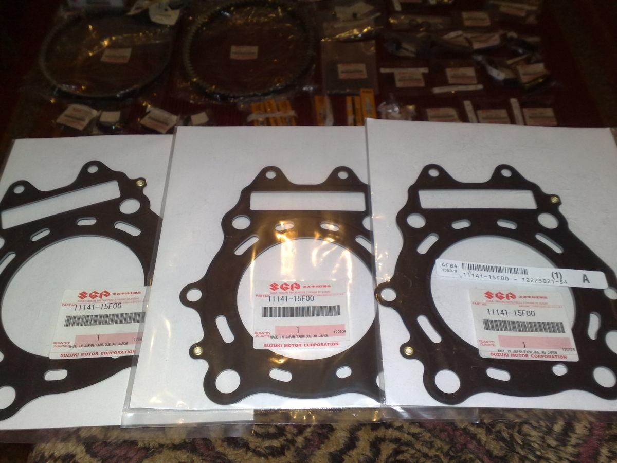 Новые оригинальные прокладки ко всем Suzuki Burgman SkyWave